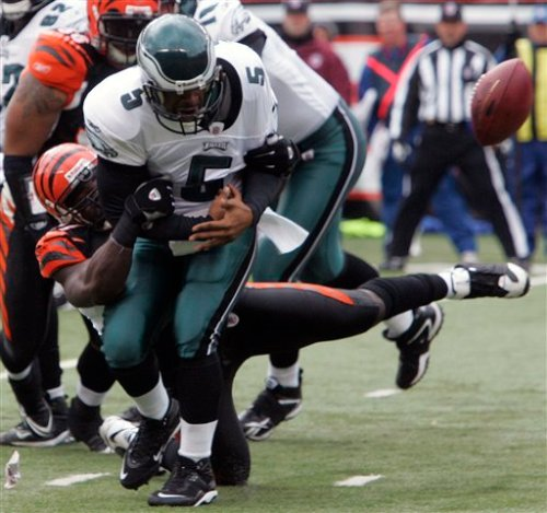 Eagles Bengals Football