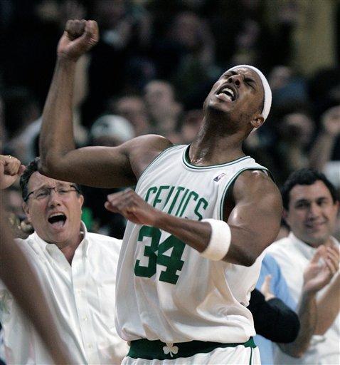 Hawks Celtics Basketball