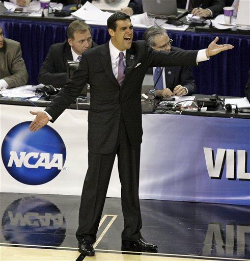 NCAA Villanova Duke Basketball